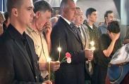 Почит отдаде и главният секретар на МВР Бойко Борисов
