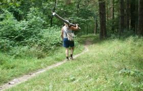 БИГ БРАДЪР живее в Княжевската гора и снима ли снима